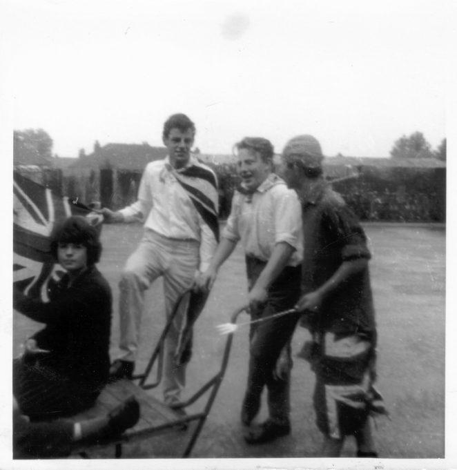 Passing by the bicycle sheds. | Nina Humphrey(née Burton)