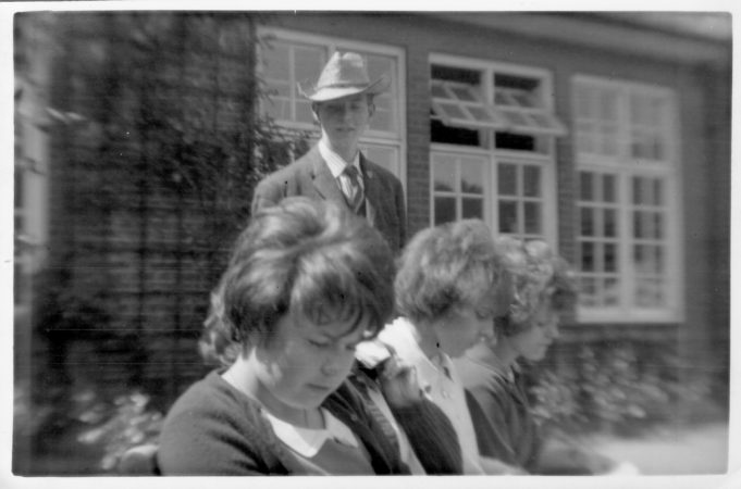 Tony Trew. Joan Hewett, Pamela Patrick, Sheila Spooner. | Nina Humphrey(née Burton)