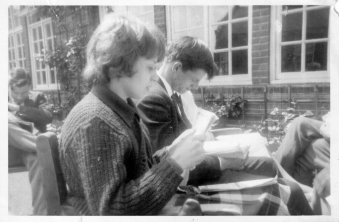 Glen Cunningham, Helen Brown and Graham Godward | Nina Humphrey(née Burton)