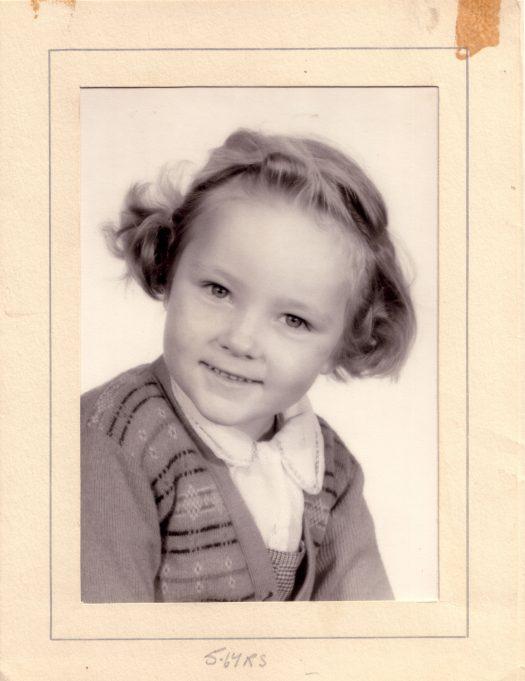 Judith Dutnall at Langdon Hills School 1959. | Judi Howgego (née Dutnall)