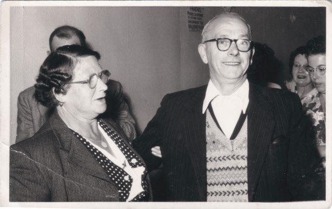 My grandparents, Sarah & Ted DesBois | Judith Howgego (née Dutnall)