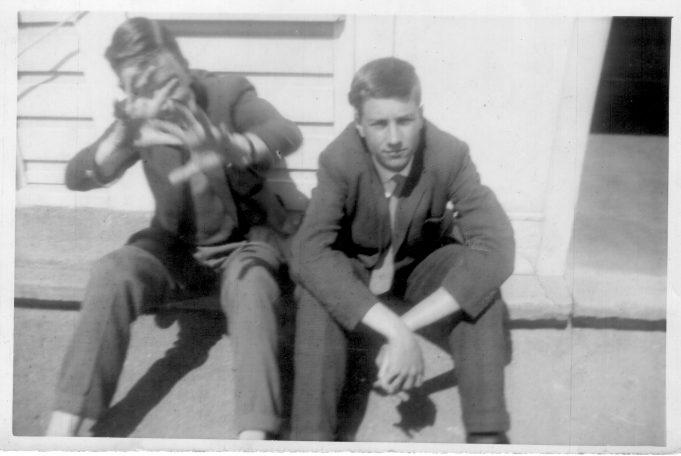 Robert Merrison and Jan Labedski | Nina Humphrey(née Burton)