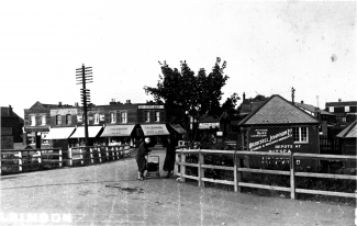 Churchill Johnson's from entrance to Station | Essex Police Museum