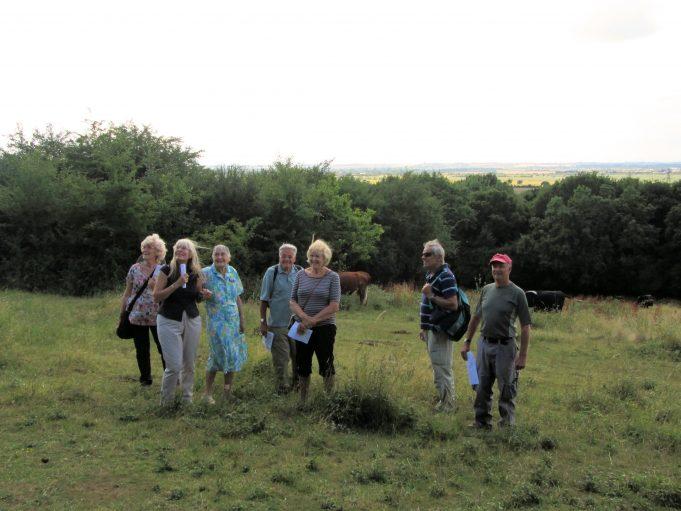 From left: Nina, Sue, Mrs Sargeant, John, Christine, Graham, Trevor. | Nina Humphrey(née Burton)