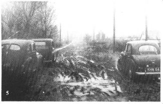 Laindon Roads during the Winter