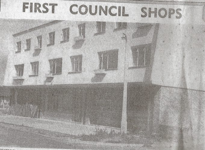 Just before opening 1956