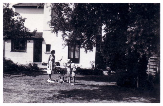 The back of St. Elmo, Victoria Avenue, Langdon Hills. | Jill Barnes (née Adams)
