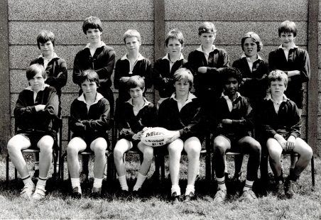 Rugby team Laindon High Road 1981/82