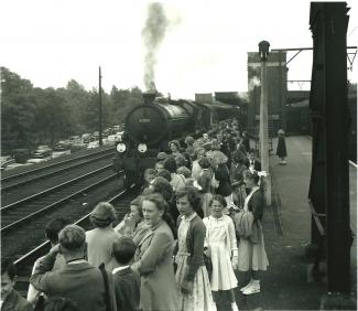 1955 LHR School Trip