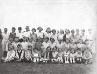 Markham's Chase School 1956/57.