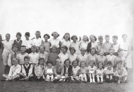 A Group at Markham's Chase School 1956/57.