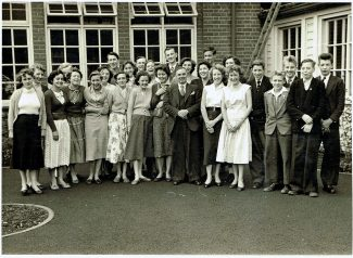 Spot my brother John in Mr Gays class leaving photograph from Laindon High Road | Peter Sloper