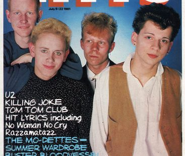 Depeche Mode and Yazoo