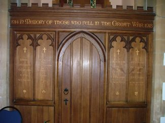 St Mary's Church - Langdon Hills - Roll of Honour