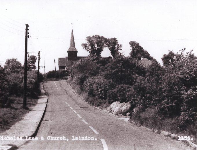St Nicholas Church at the top of Church Hill, Laindon.   Barry Ellerby