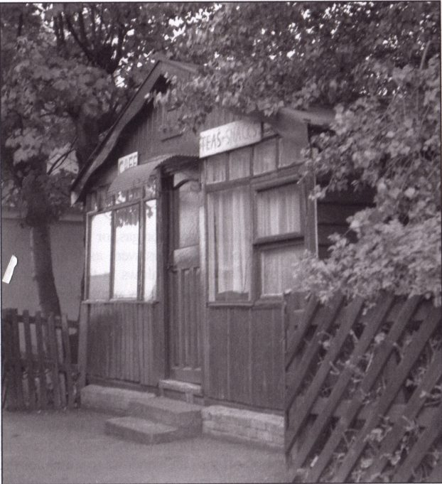 This is the café at Laindon Station where we would wait for the Dunton Bus. This picture was taken in the 1960s, the café had not changed much from what the author remembers of it from the 1940s and before.