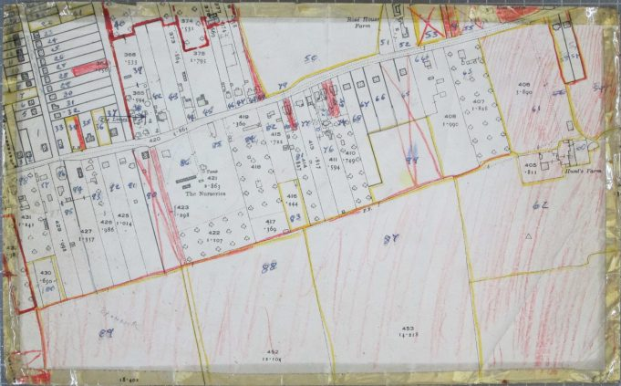 BDC 1949 Property Survey Map | Ordance Survey