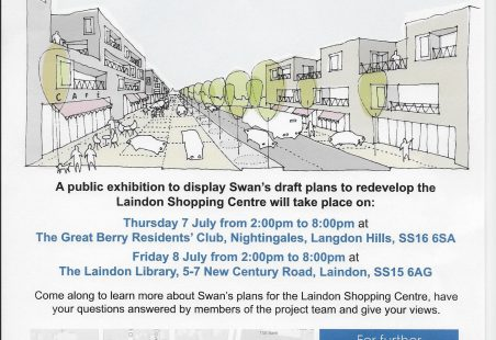 Swan Housing's draft plans for Laindon Shopping Centre
