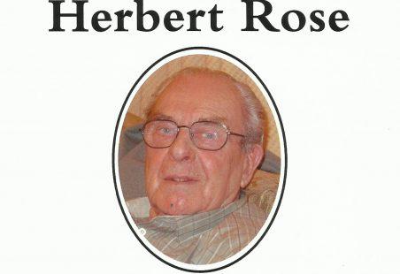 Sydney John Herbert Rose 1927 - 2016