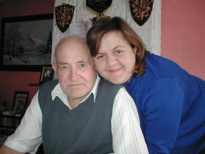 Michelle Wright with her late father Edwin (Ted) Freegard. | Michelle Wright.