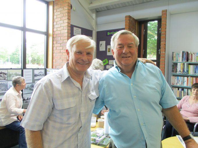 Frank Gunner and Tony Wood   Colin Humphrey