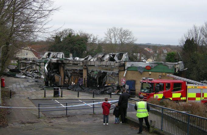 The aftermath, Friday morning 4.1.2013.   Colin Humphrey