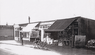 The shop with the white awning appears to be another butcher. Do you remember which one?   David Merchant