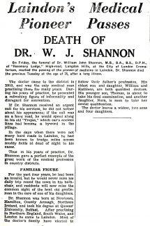 Dr Shannon