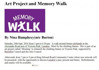 Community Archive Walks