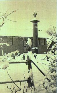 Memorial outside British Legion Hall