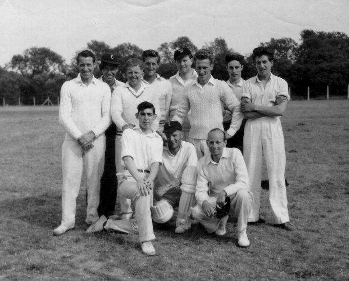 Westley Cricket Club - 1956/57 Team | Nina Humphrey