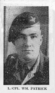 Lance Corporal William A Patrick - Korean Hero