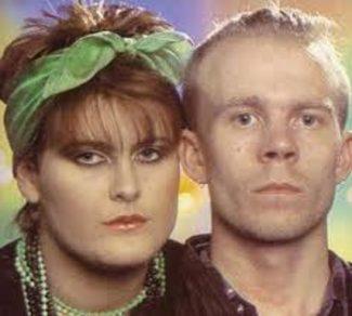 Yazoo 1982/1983.  Alison Moyet and Vince Clarke.