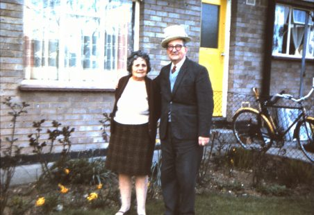 My parents Nelly and Fred Waters