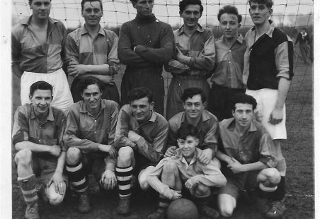 Photographs of Laindon Football Teams