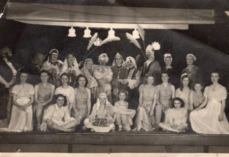 Theatrical performance 1945 ?