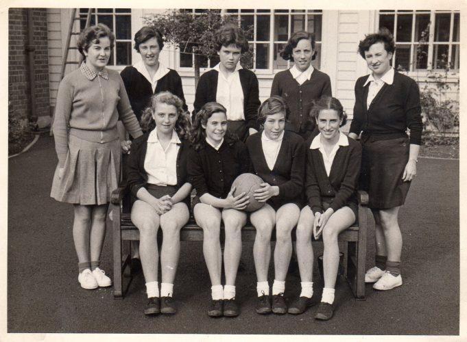 Laindon High Rd netball team 1955 | Joe Morris