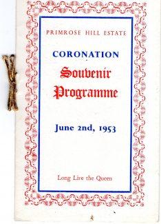 Souvenir programme cover | John Grant