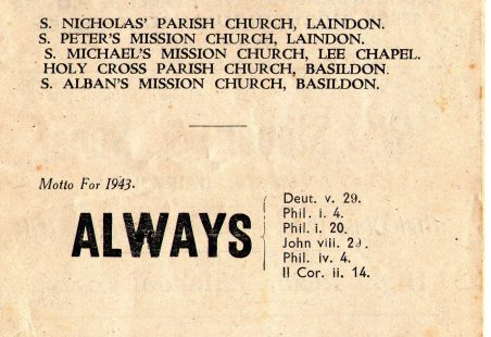 Parish Magazine July 1943