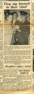 John Henry Sims - Laindon Station Master 1926-1952.