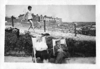 Nan and granpa Davies on day out in Margate 1940.s | Gloria Sewell