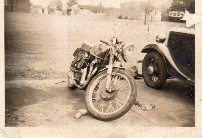 Laindon Motorcycle Crowd