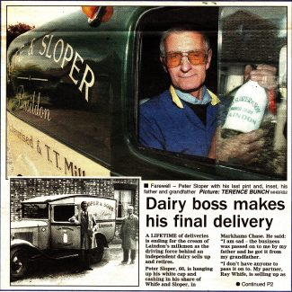 Sloper's Dairy of Laindon