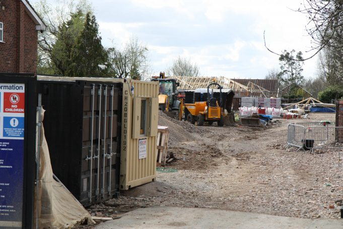 Site of the former 90 Manor View, Railway Approach.   Colin Humphrey
