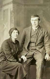 Edwin & Ura Amy Burr my grandprents | Ellen English Family
