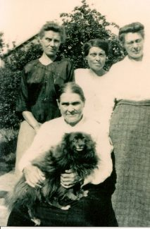 Grt Grandmother Louisa with her 3 daughters, Charlotte, Florence and Ellen | Ellen English Family
