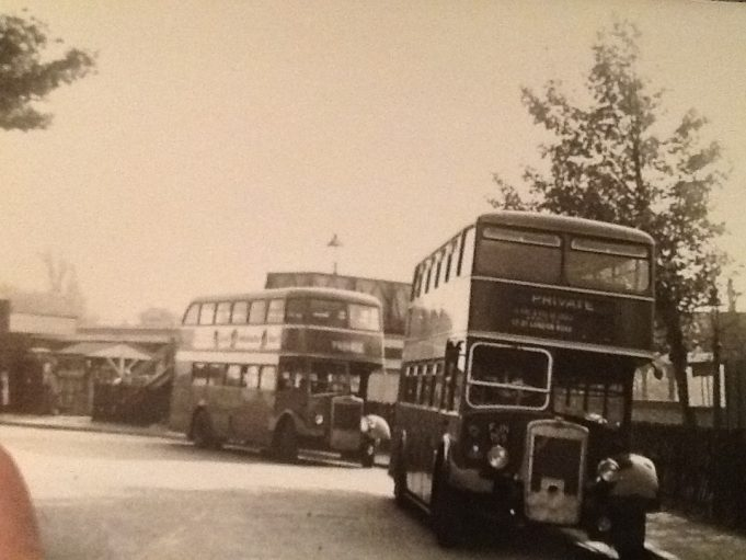 Laindon, Station Approach. 1955.