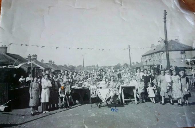 Basildon Drive 1945.