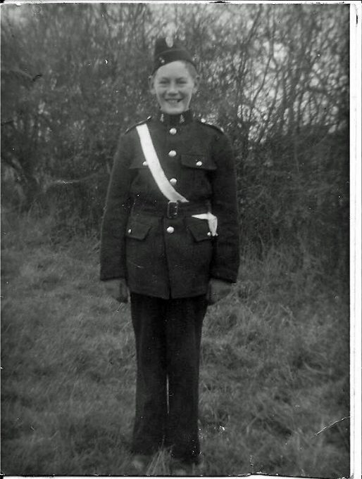 Ken Porter in Church Lads Brigade Uniform