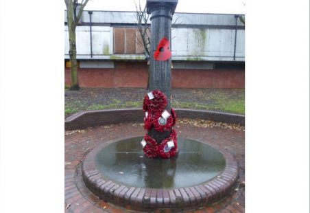 Remembrance Day Service at 3pm at the Laindon War Memorial Sunday 11th Nov. 2018.